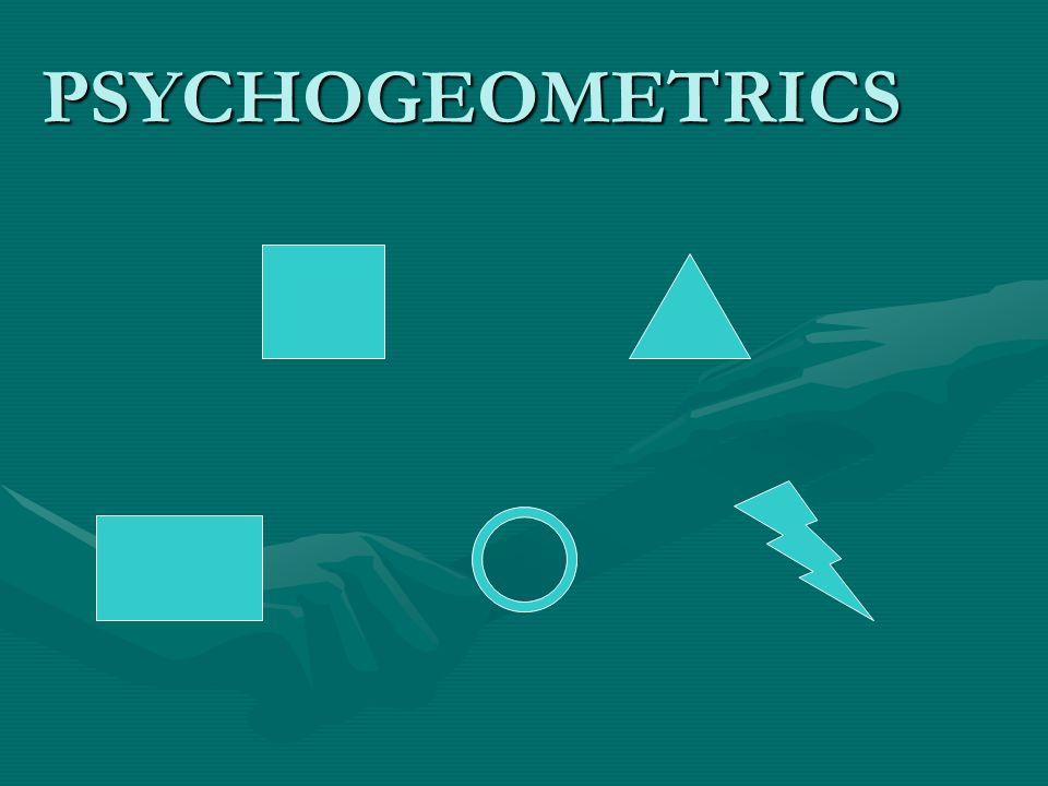 PSYCHOGEOMETRICS