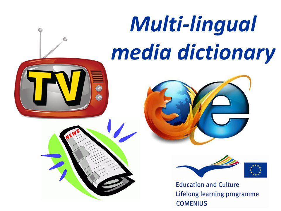 Multi-lingual media dictionary