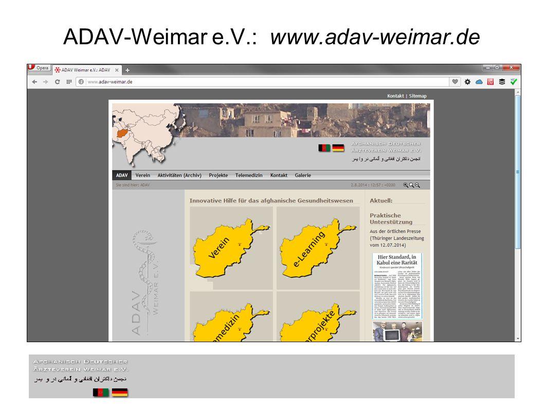 ADAV-Weimar e.V.: www.adav-weimar.de