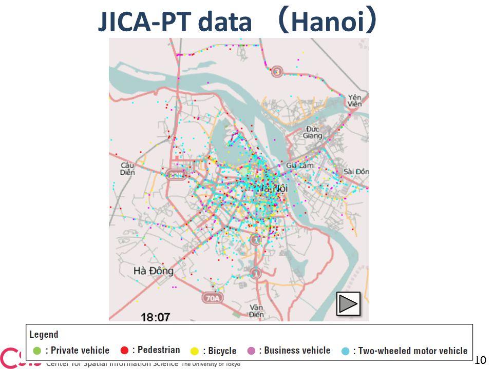JICA-PT data ( Hanoi ) 10