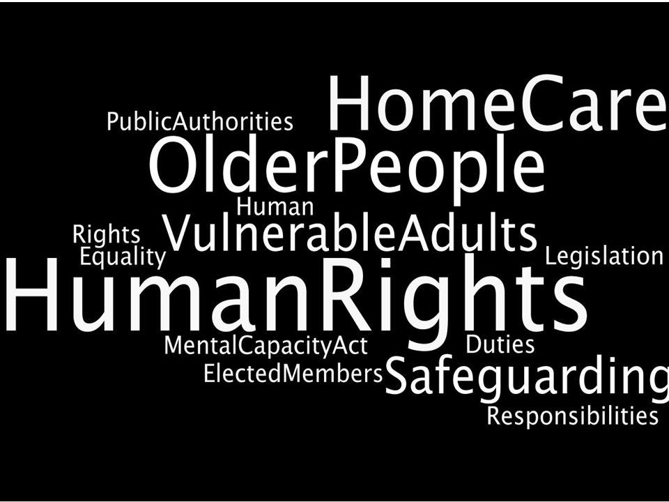 Older people and home care At its best, home care: –Helps people to stay in their own home –Supports independence and self- determination –Promotes dignity and respect