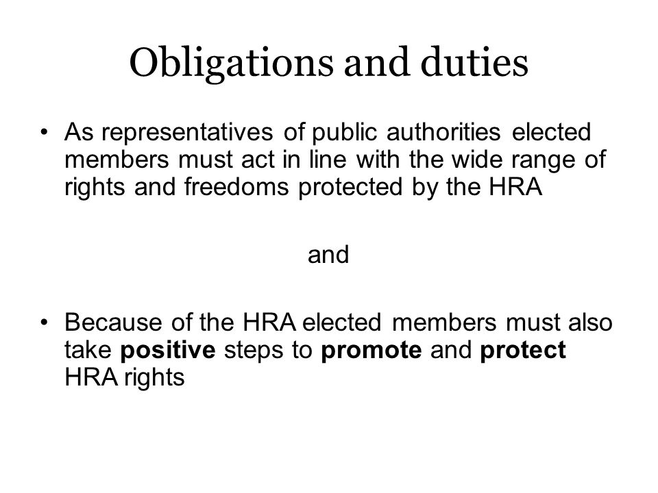 Just to be clear… Public authorities also have duties under the Equality Act 2010.