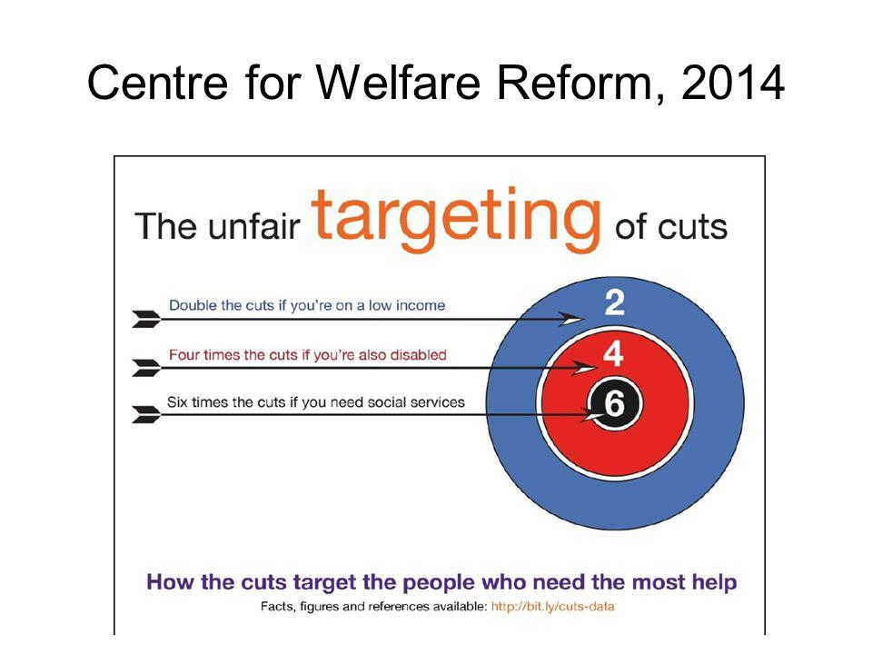 Centre for Welfare Reform, 2014