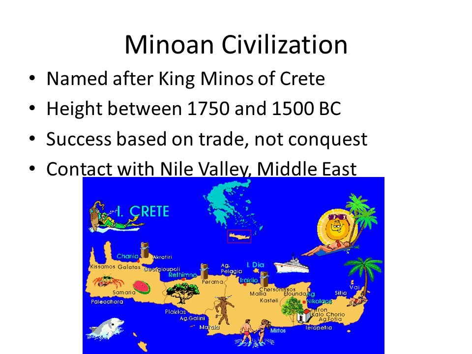 How did trade contribute to the development of Minoan and Mycenaean civilizations.