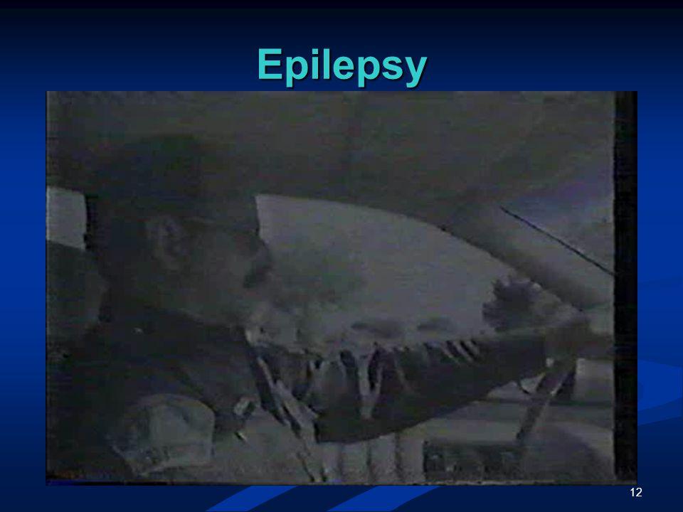 12 Epilepsy