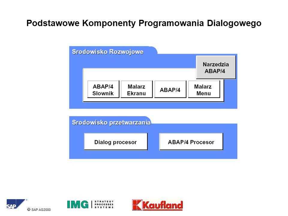  SAP AG2000 Podstawowe Komponenty Programowania Dialogowego
