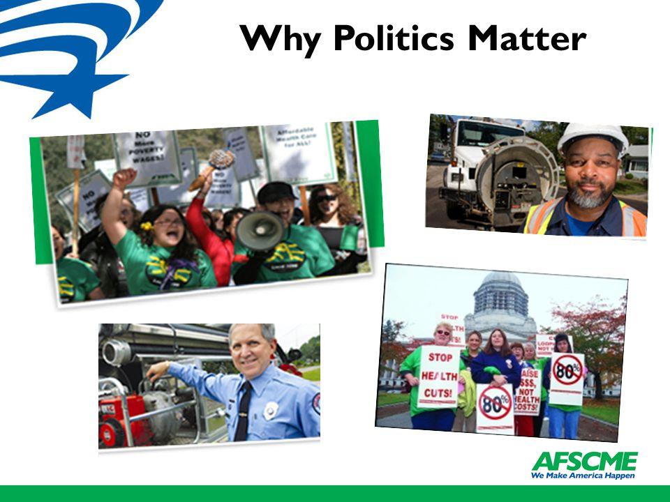 Why Politics Matter