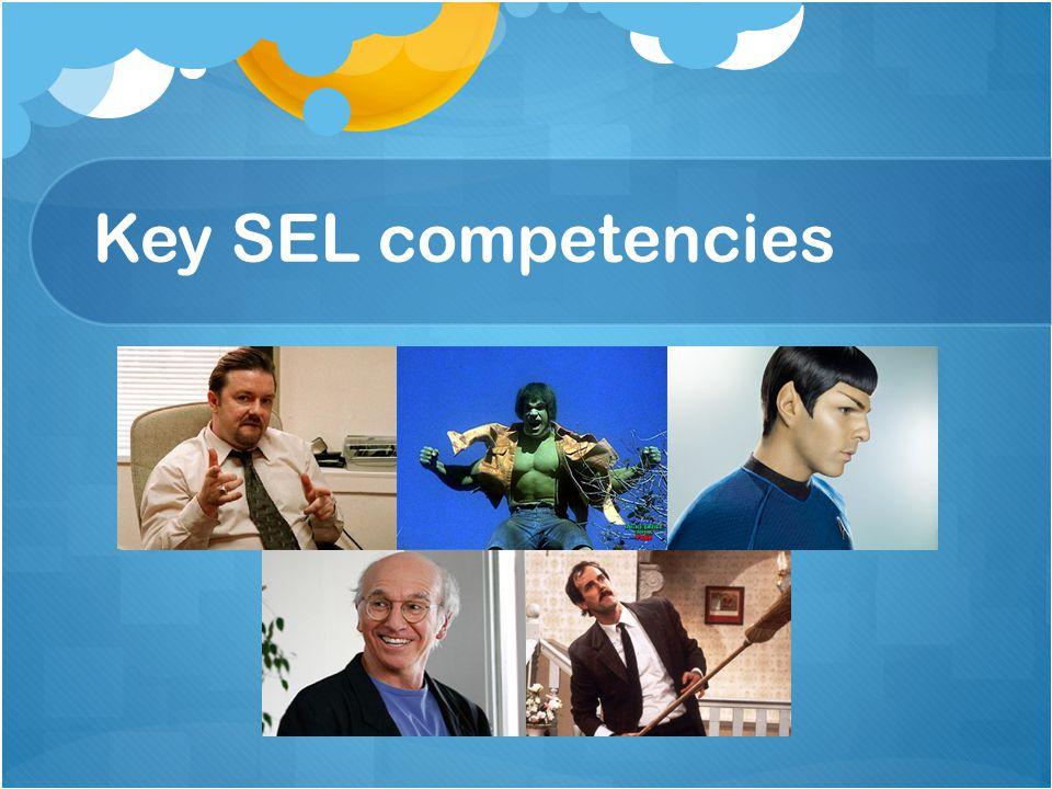Key SEL competencies