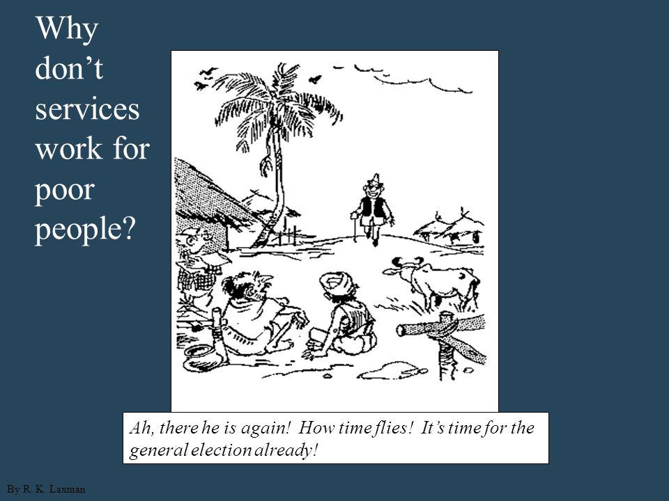 Citizen-policymaker Political economy of public services