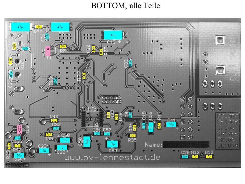 BOTTOM, zeitoptimiert 22 4,7 10k 4k7 10n 220 100n 10µ 47µ 10µ 4k7 0 100n 10n 100n 10µ 1µ 10k 1M 390 10k MIC5205 10k PBSS..