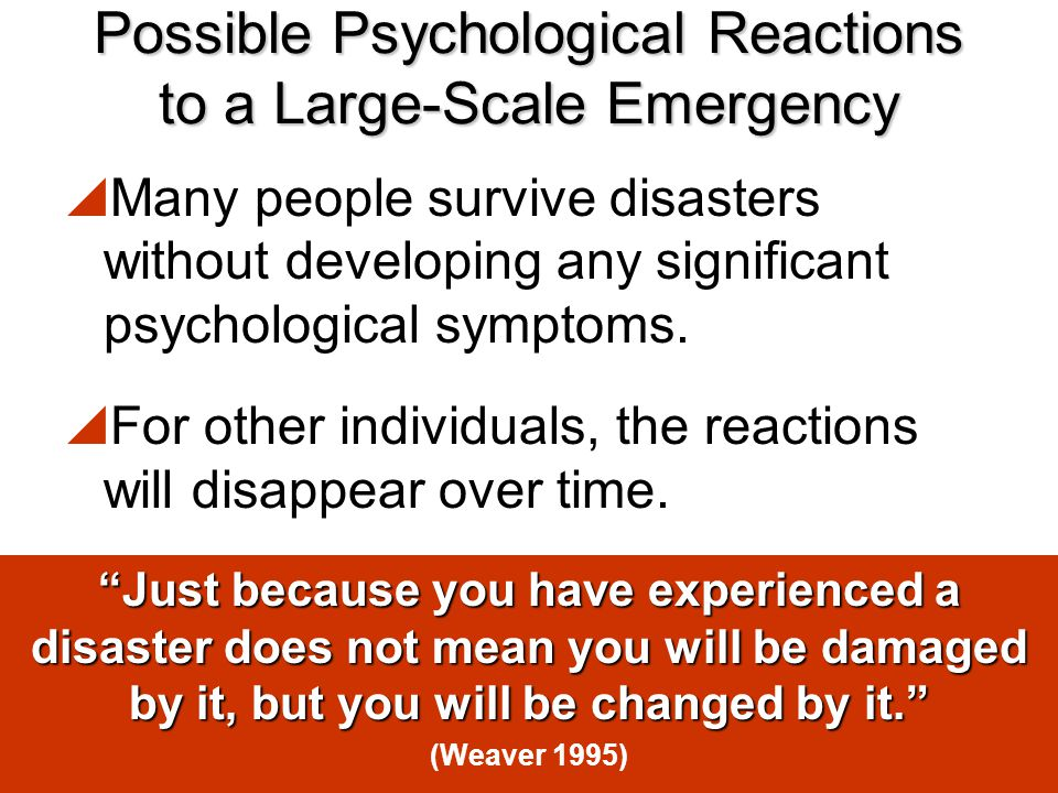 ActivityWhat if I lost… Activity – What if I lost…  These are the three things you will have lost in a disaster.