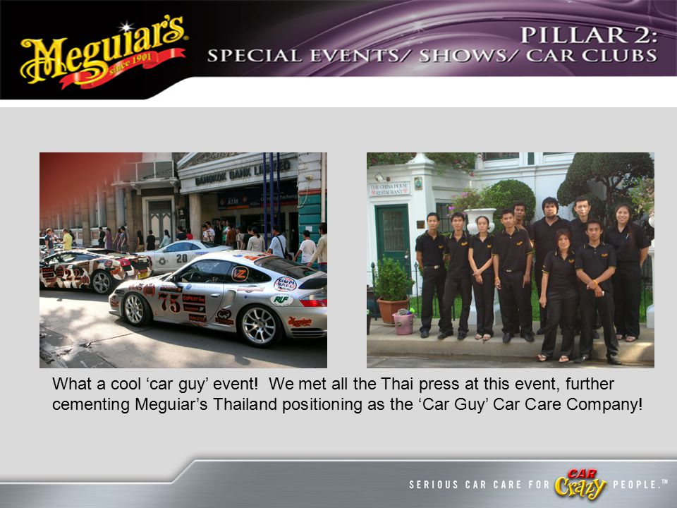 What a cool 'car guy' event.
