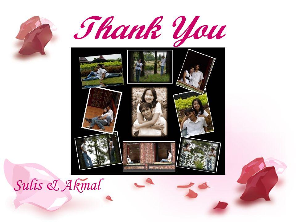 Thank You Sulis & Akmal