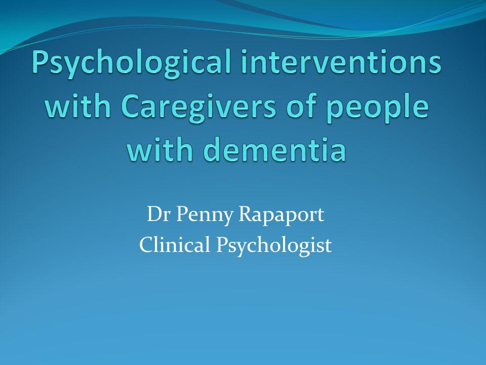 Dr Penny Rapaport Clinical Psychologist