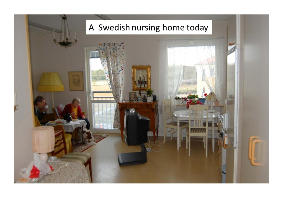 A Swedish nursing home today