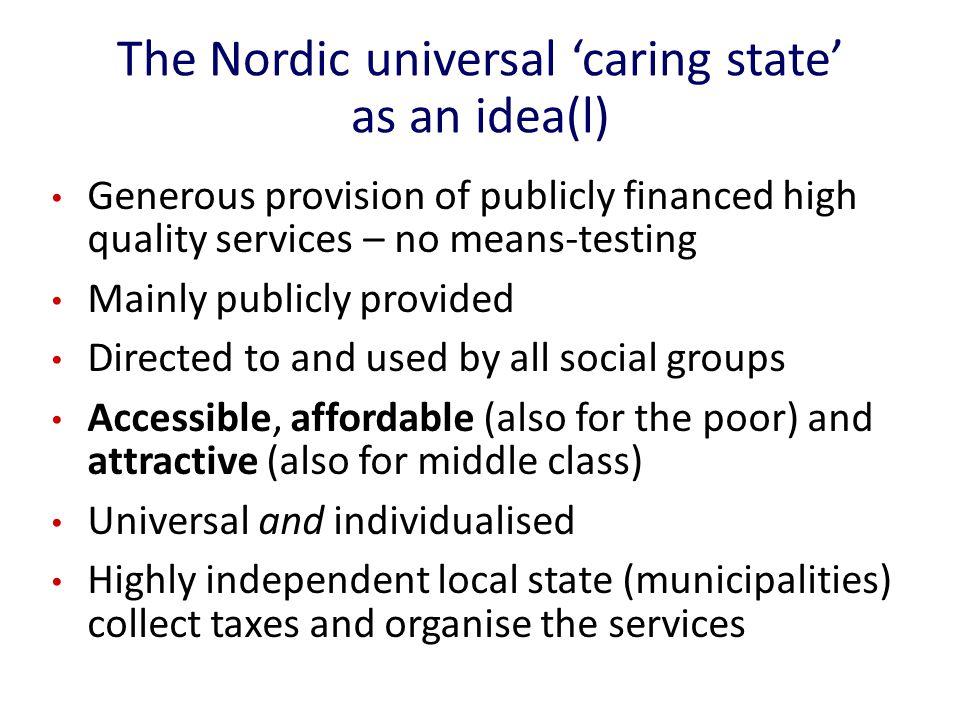A Swedish nursing home today
