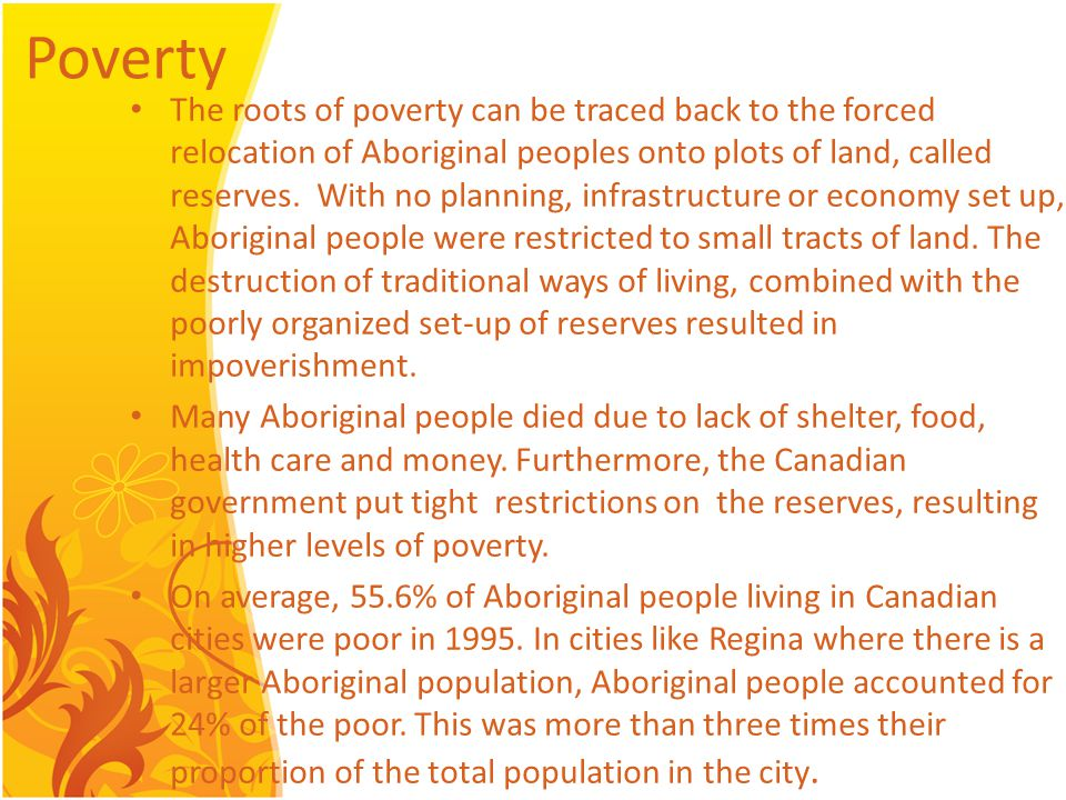 Changes Take Aboriginals seriously.Recognize Aboriginal title and treaty rights.
