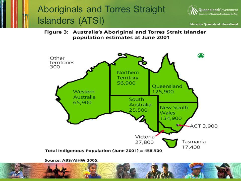 Aboriginals and Torres Straight Islanders (ATSI)