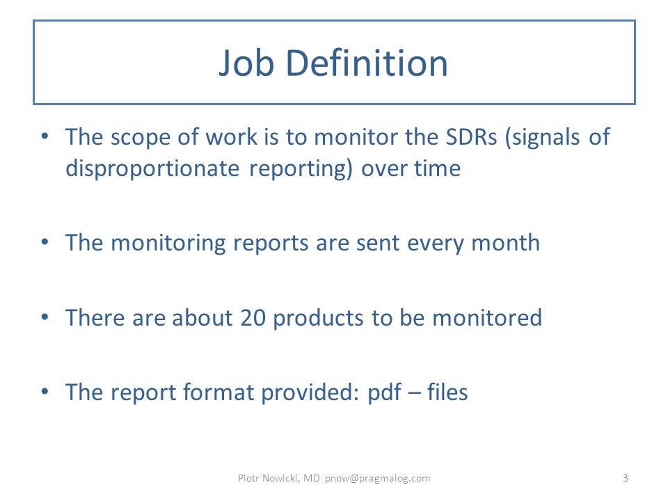 PDF Report Sample - Header Piotr Nowicki, MD pnow@pragmalog.com4