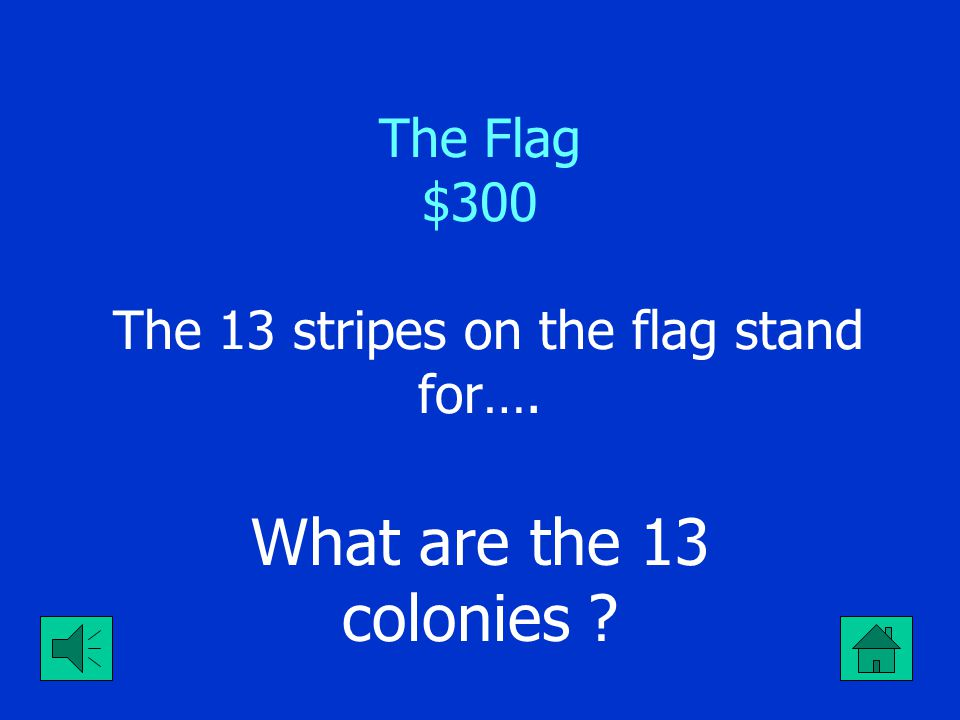 The Flag $200 The 50 stars on the USA Flag stand for the ----- What are the 50 states