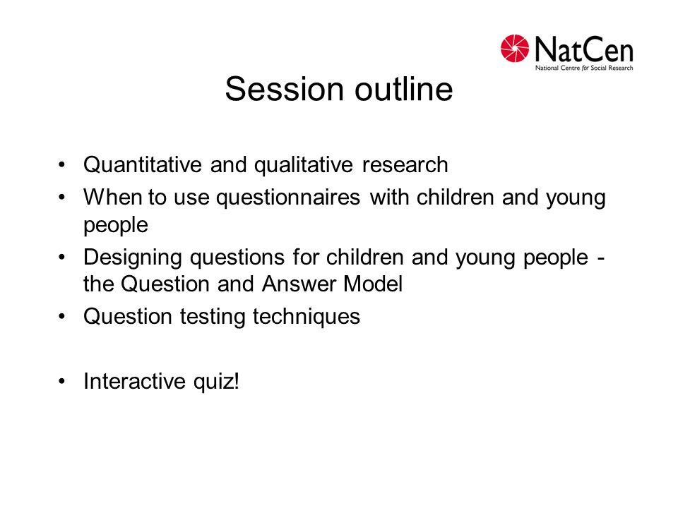Two types of research QuantitativeQualitative