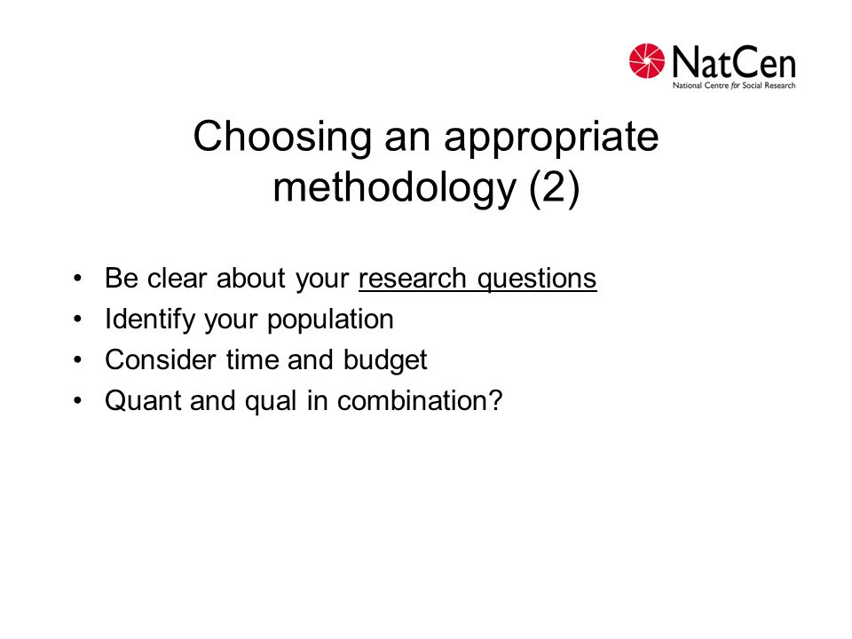 Range of quantitative options Face-to-face interviewing (paper or computer- assisted) Telephone interviewing (paper or computer-assisted) Self-completion questionnaires (paper or computer- based - including online)