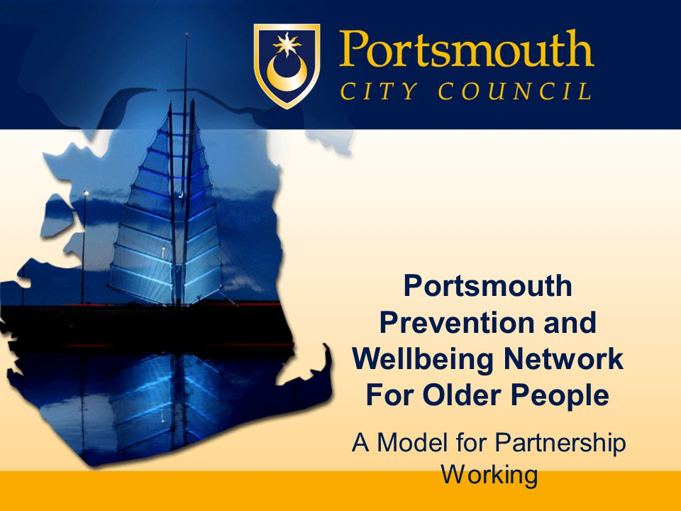 Putting People First Portsmouth City Council Intergenerational Scheme Has involved elders going to help children in the inner city schools and children assisting the elders with I.T projects.