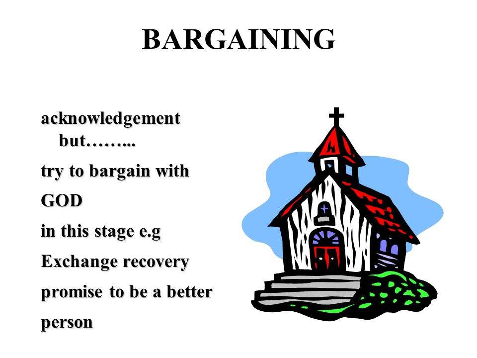 BARGAINING acknowledgement but……...