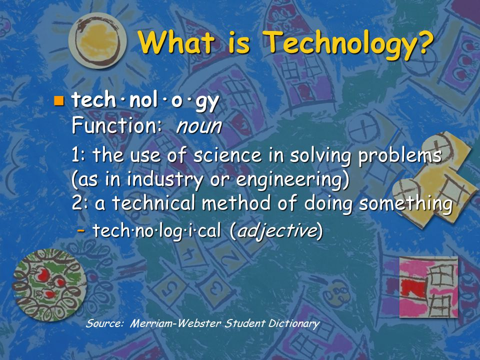 What is Technology.