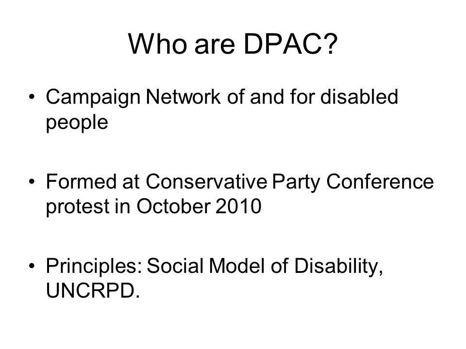 Who are DPAC.