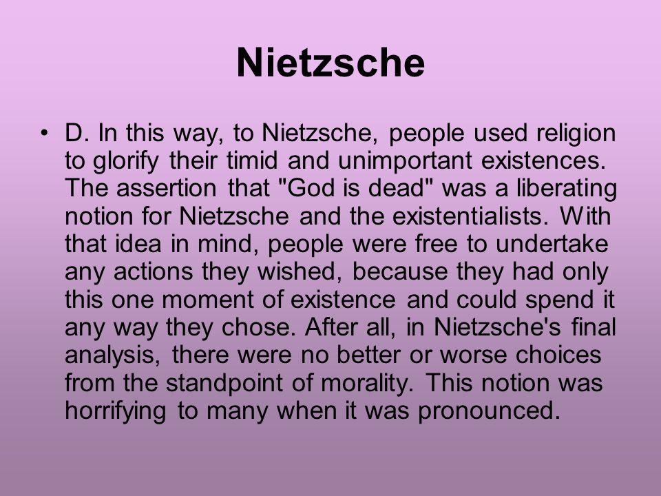 Nietzsche D.