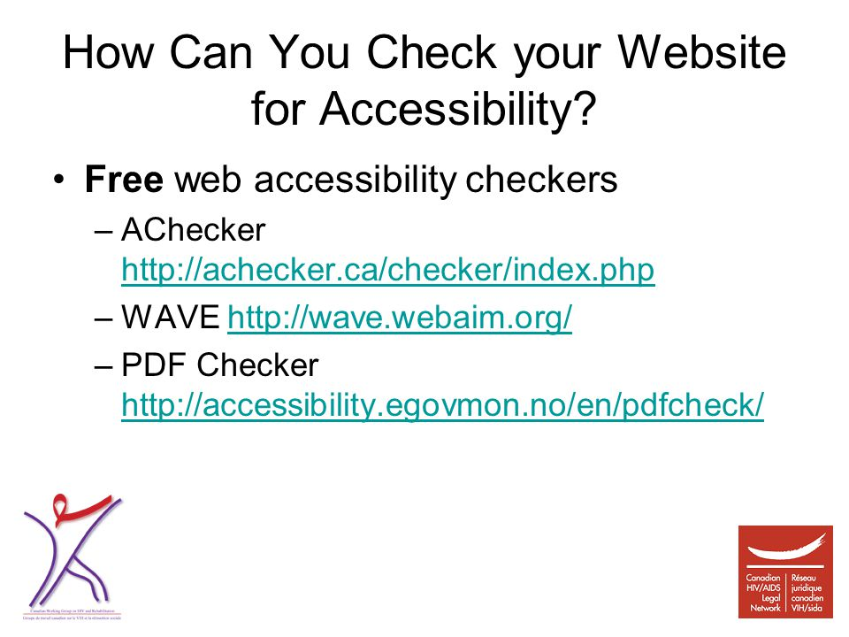 How Can You Check your Website for Accessibility.