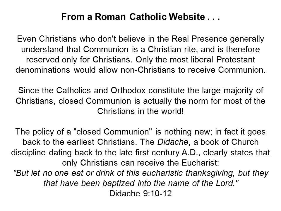 From a Roman Catholic Website...