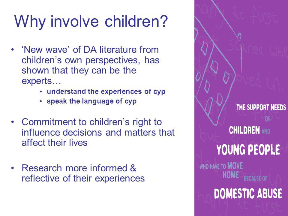 How we involved children 3 key processes: 1.