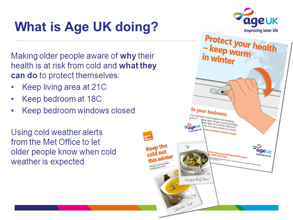 What is Age UK doing.