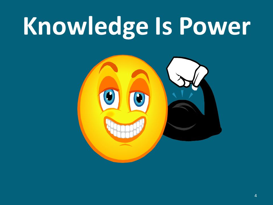 Knowledge Is Power 4