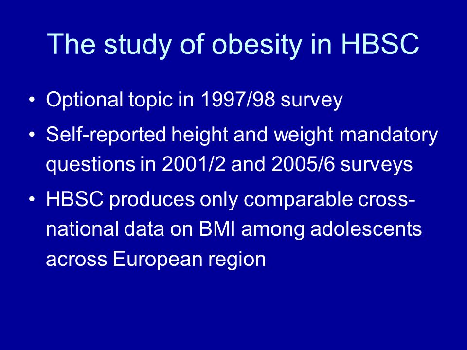 % overweight 15 year old boys (Source: Young People's Health in Context (2004))