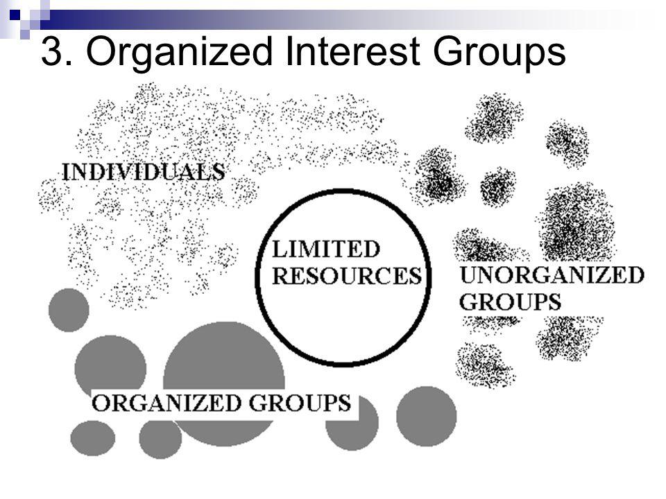 3. Organized Interest Groups