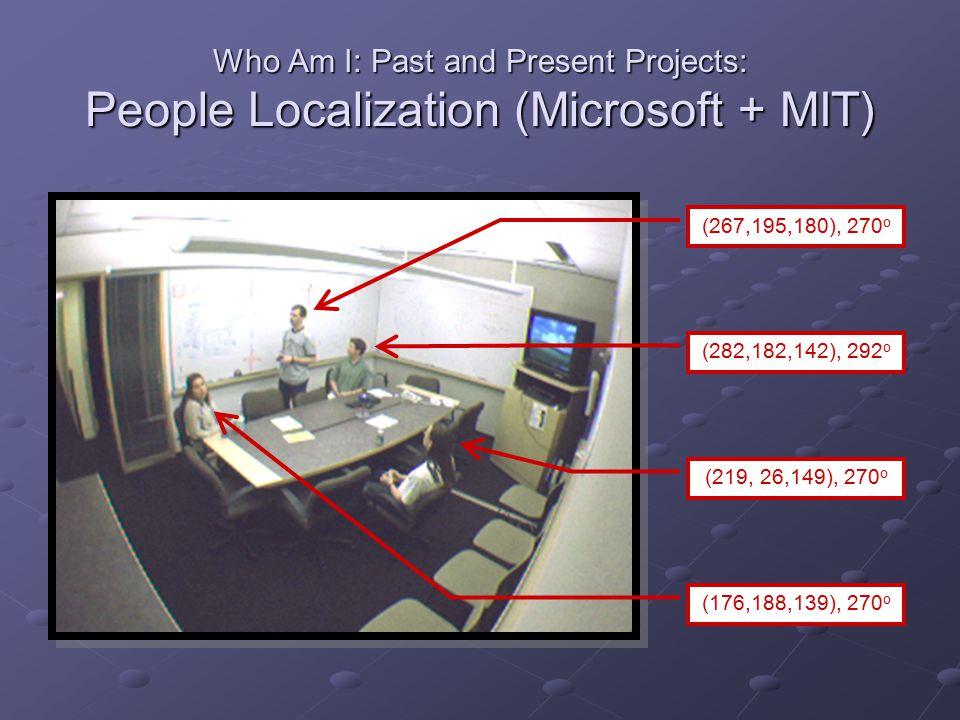 People Localization: System Design Video Edges Motion Color Camera Calibration Head & Shoulders Model Template Generator Outline Comparison