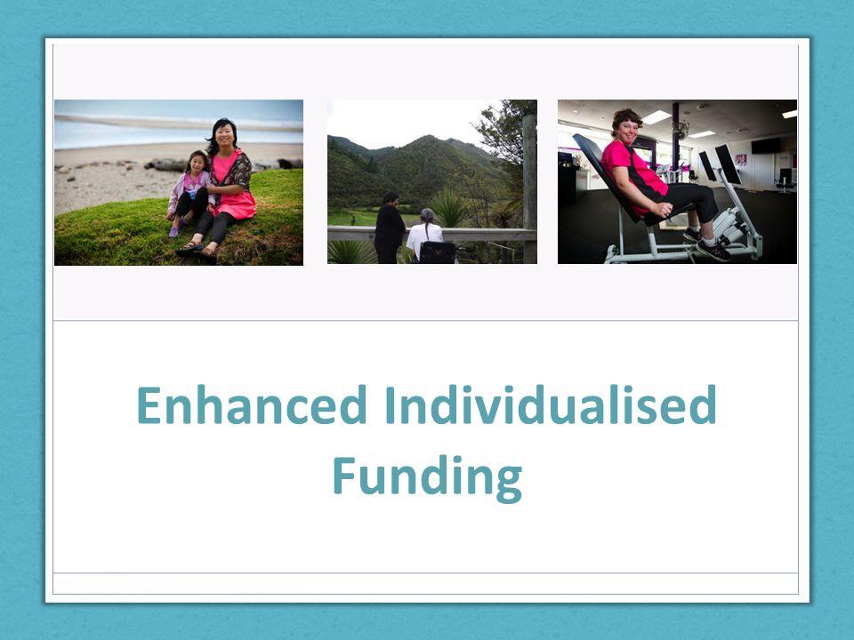 Enhanced Individualised Funding