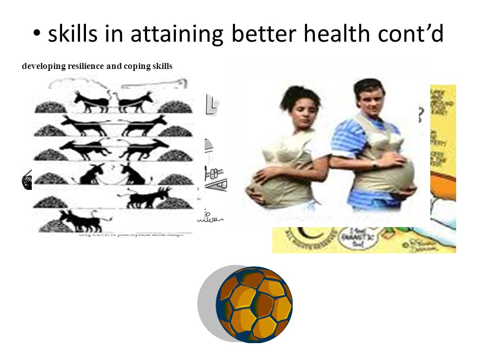 skills in attaining better health cont'd developing resilience and coping skills