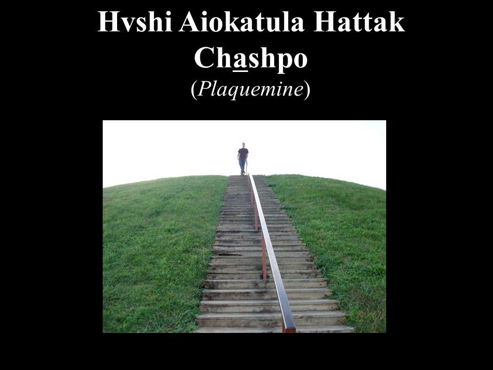 Hvshi Aiokatula Hattak Chashpo (Plaquemine)