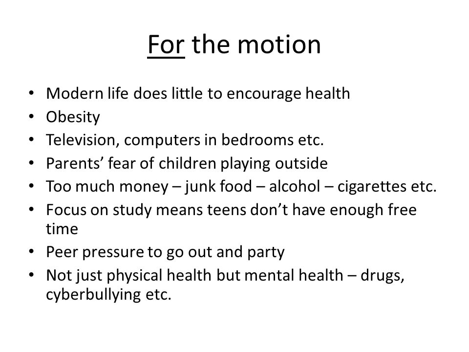 Slidejpg Too Many Young People Today Have Unhealthy Lifestyles Essay For  The Motion Modern