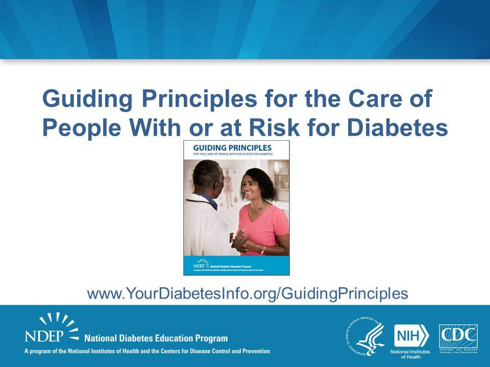 www.YourDiabetesInfo.org/GuidingPrinciples
