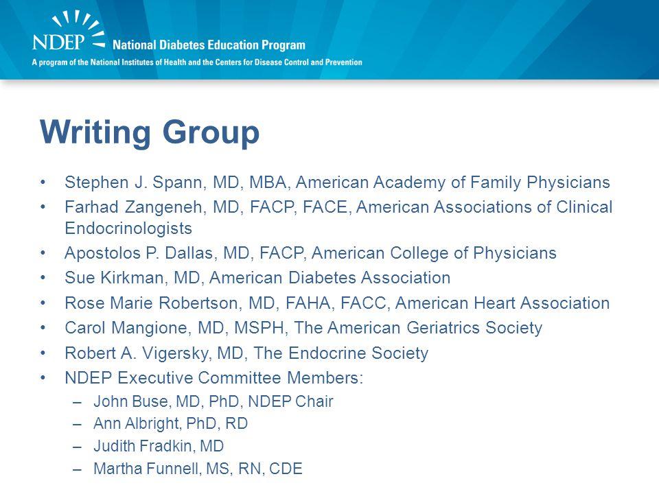 Writing Group Stephen J.