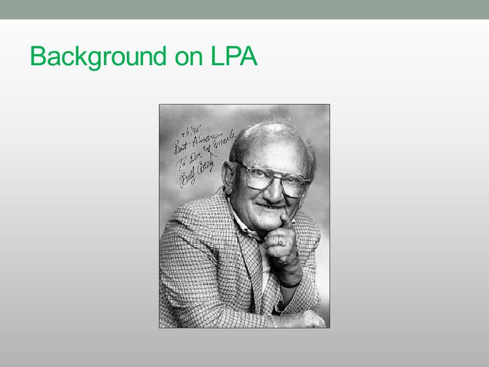 Background on LPA