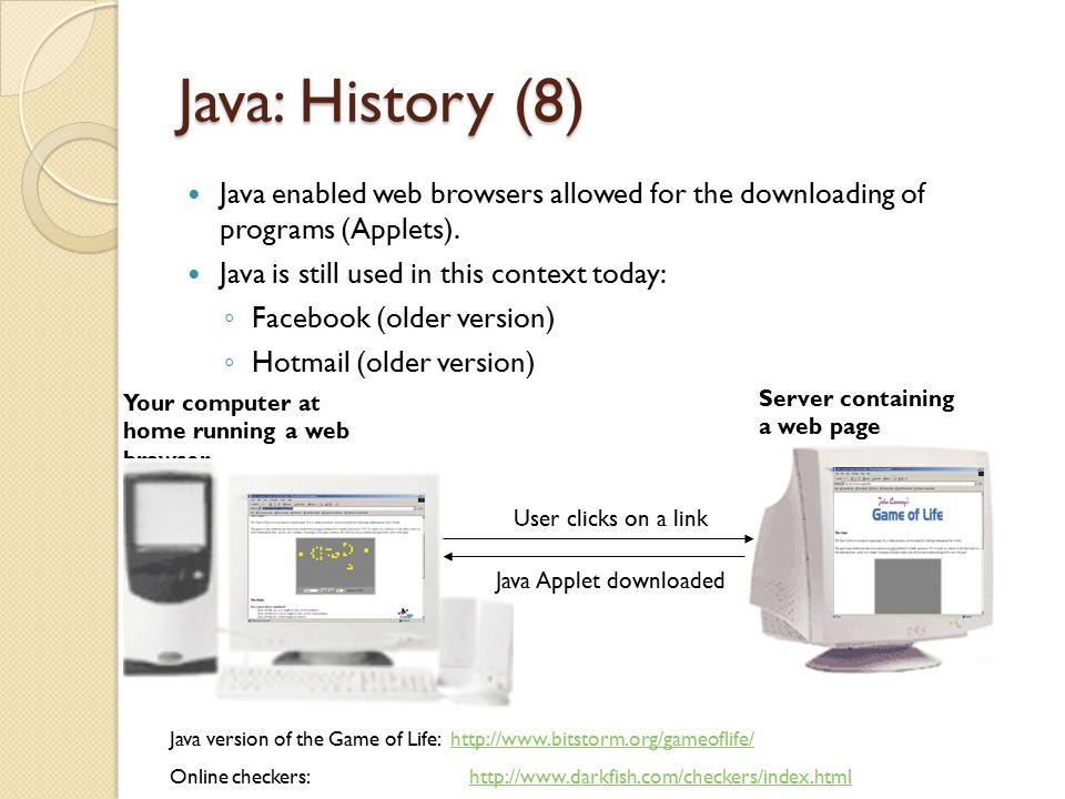 Running The Smallest Java Program (Java byte code) 10000100000001000 00100100000001001 : : Smallest.class java Type java Smallest (Platform/Operating specific binary 10100111000001000 00100111001111001 : :