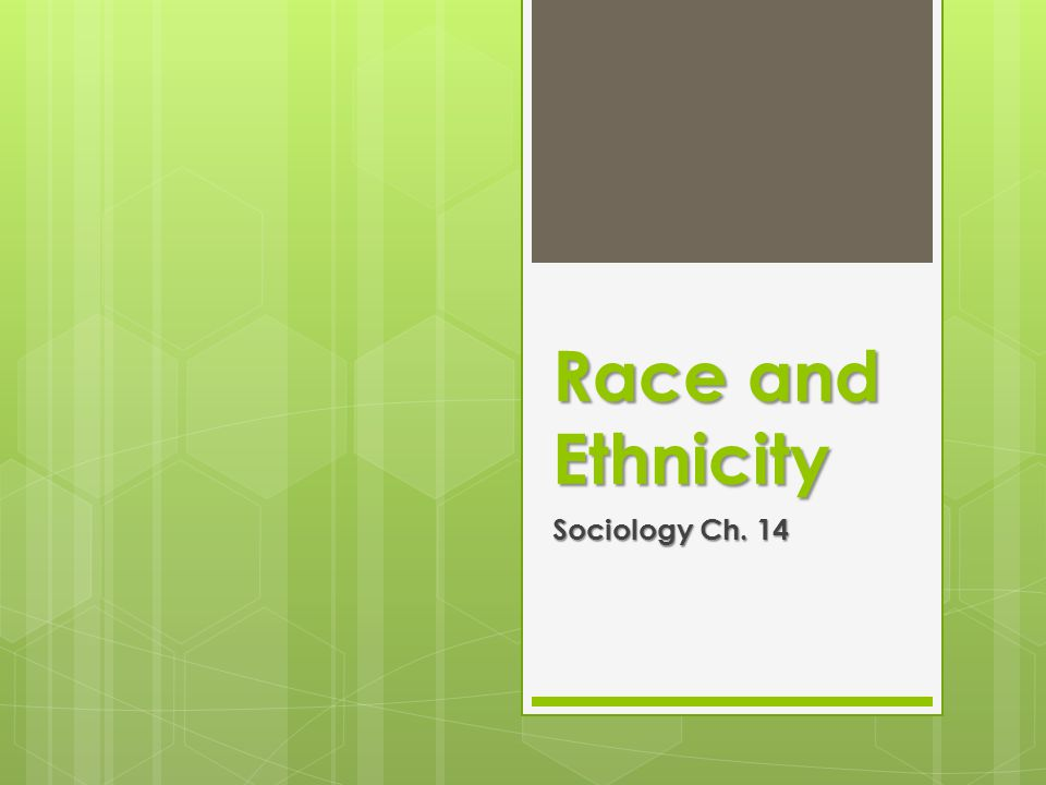 Definitions  Race–A socially constructed category composed of people who share biologically transmitted traits that members of a society consider important  Sociologists consider racial terms misleading at best and harmful at worst.