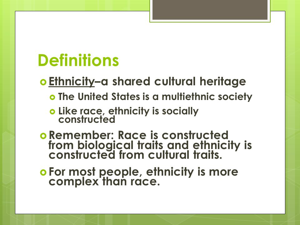 sociology essays on race and ethnicity