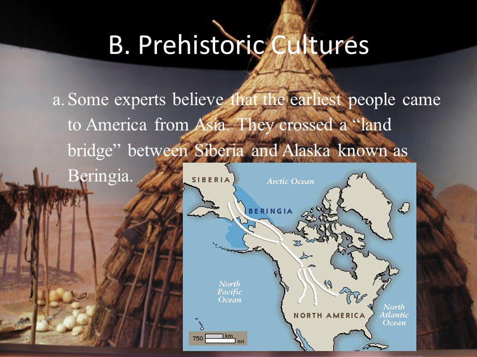 C.Paleo Indians a.